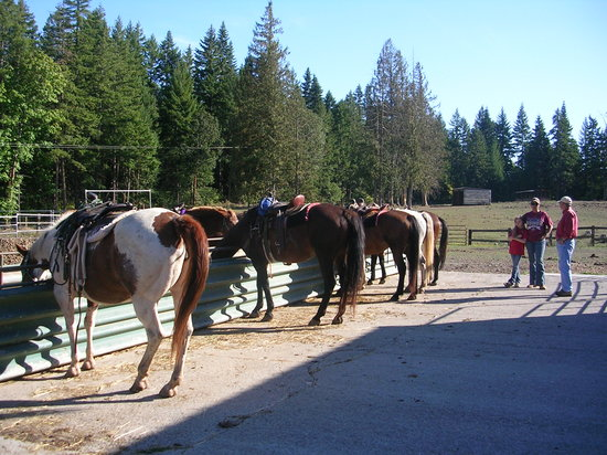 White Salmon, WA: NW Lake Riding Stables