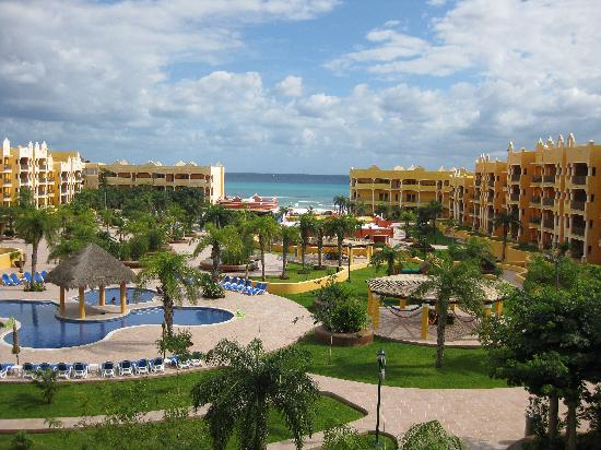 The Royal Haciendas All Suites Resort & Spa: view from unit C317
