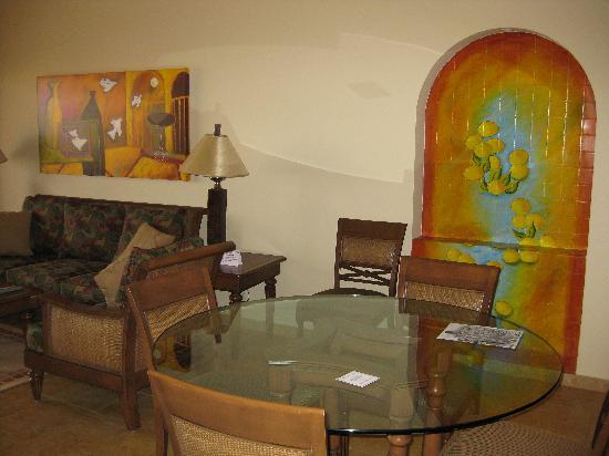 The Royal Haciendas All Suites Resort & Spa: living room again