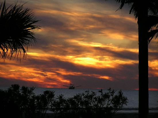 Inn at Dauphin Island: Wonder place to view sunsets