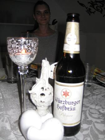 Greifensteiner Hof Hotel: The Local Brew!