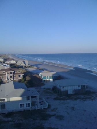 Holiday Inn Resort Wrightsville Beach: View from my 7th floor corner room