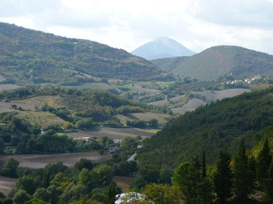 La Locanda del Papa: View from Genga