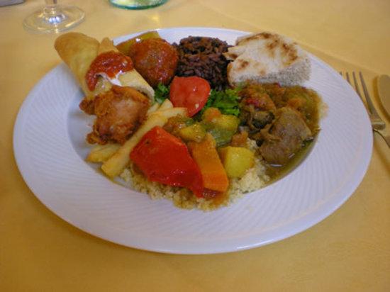 Ristorante Paladar: questo è il piatto misto etnico
