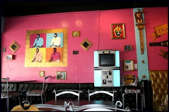 Photo of Mexican Restaurant Lucha Libre Gourmet Taco Shop at 1810 W. Washingon Street, San Diego, CA 92103, United States