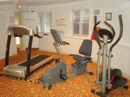Wyndham Bay Voyage Inn: The Gym?