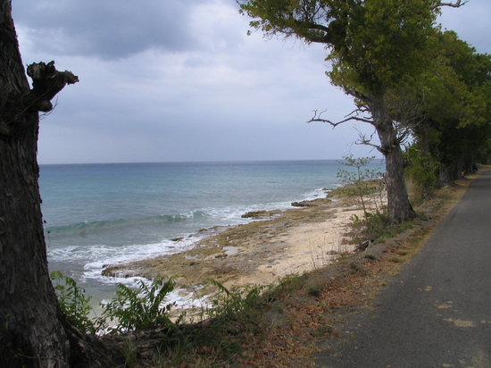 سانت كروا: Western shore