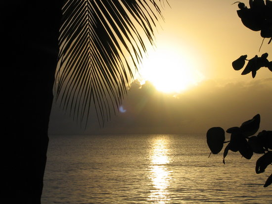 Saint Croix: Carribean sunset
