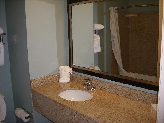 Ecco Suites: Bathroom