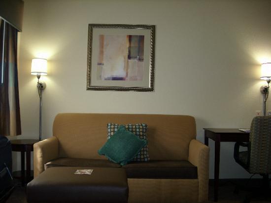 Crestwood Suites Lakeland: Sitting area