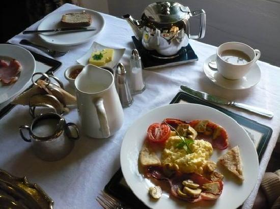Laurel Villa: breakfast 2nd course