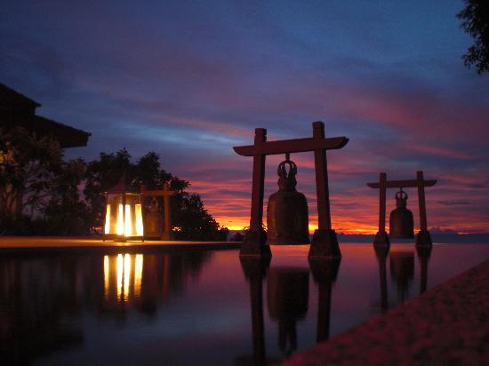 Pimalai Resort and Spa: Sonnenuntergang