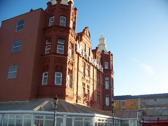 Grand Metropole Hotel Blackpool Parking