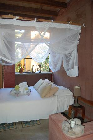 Verana Jungle Room Another bed in a seprate room by sink & Jungle Room: Bed with open jungle view - Picture of Verana Yelapa ...