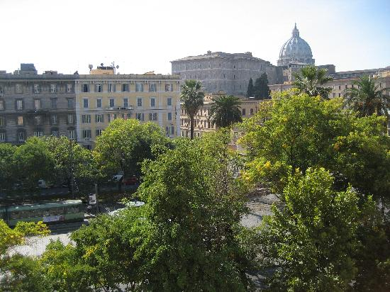 Vatican Vista : View of Vatican from our window