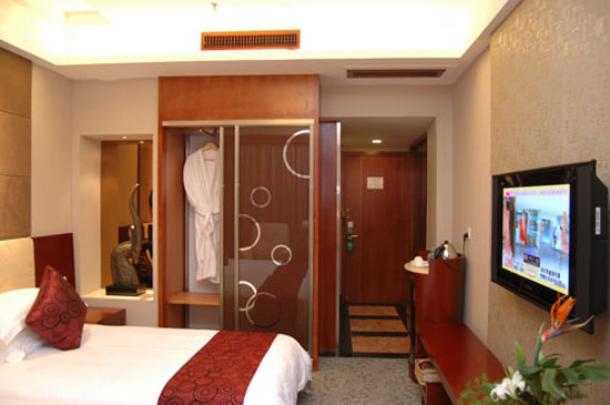 Yiwu, Kina: la chambre à 25 euro (avec pc...)
