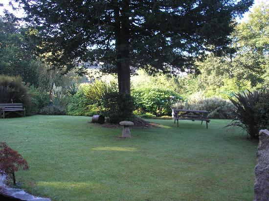 Moorland House: garden