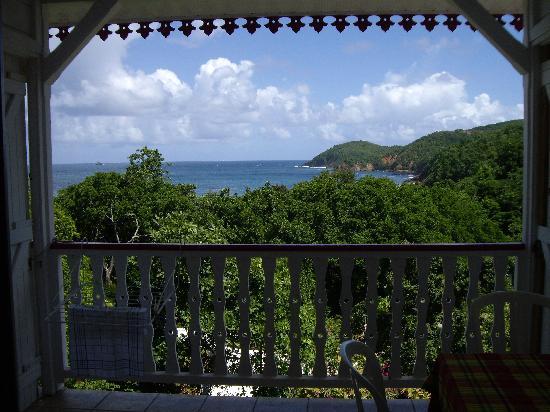 Residence Oceane Hotel : Blick von Terrasse