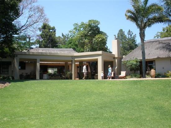 Lourie Lodge : View from bottom of lawn