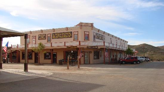 Trail Rider's Inn Motel: Longhorn Restaurant where Virgil Earp was shot from