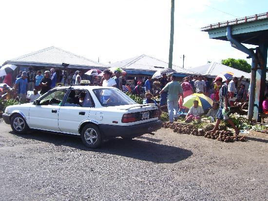 Food Market in Apia
