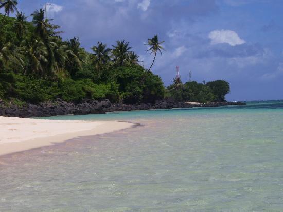 Apia, Ilhas Samoa: The beaches of Samoa