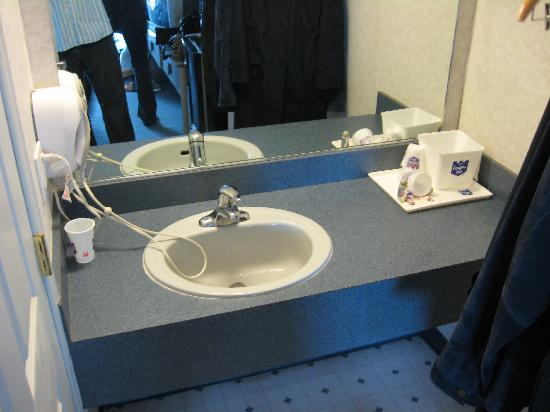 Inn Atlantic City Absecon: Sink