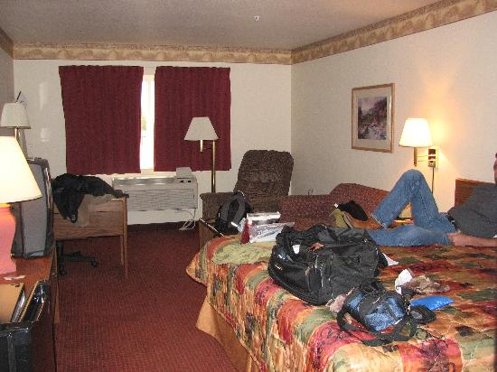 Super 8 Salt Lake City Airport: Room 206