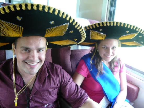 Tequila Express: at the train