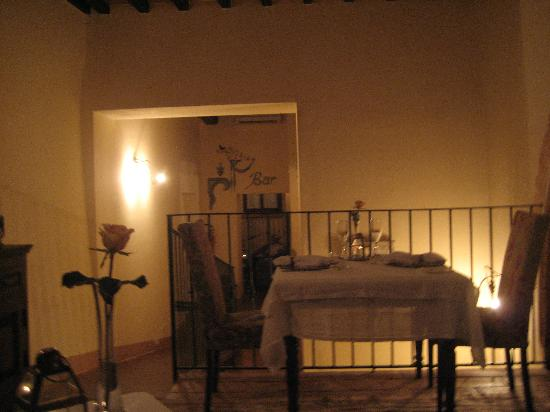 Palazzo Brandano : Dining Room (where amazing food was always served)