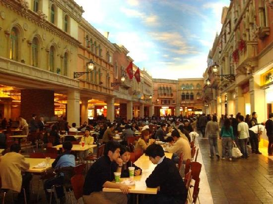 Food Court And Shopping Areas Picture Of The Venetian