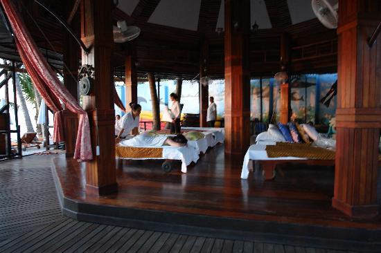 Grand Cabana Hotel & Resort: Massagelaube
