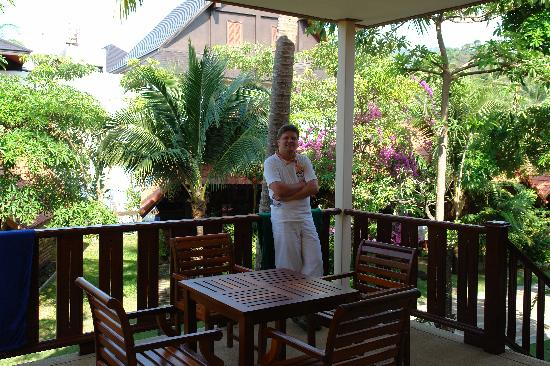 Grand Cabana Hotel & Resort: Terrasse