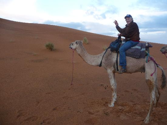 Kasbah Hotel Tombouctou: Camel Ride in the Sahara