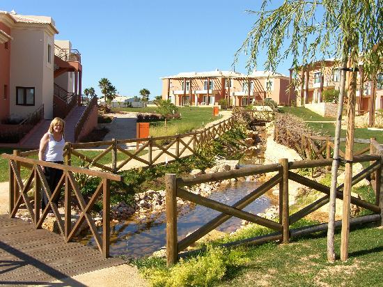 Monte Santo Resort: Stream water feature