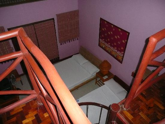 the Club Ten Beach Resort Boracay: view on lower level delux room