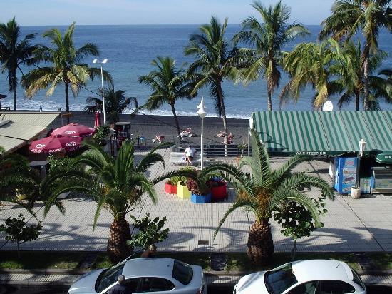 Atlantico Playa: view from balcony
