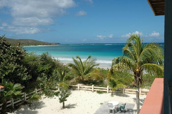 Culebra Beach Villas: The view from teh terrase