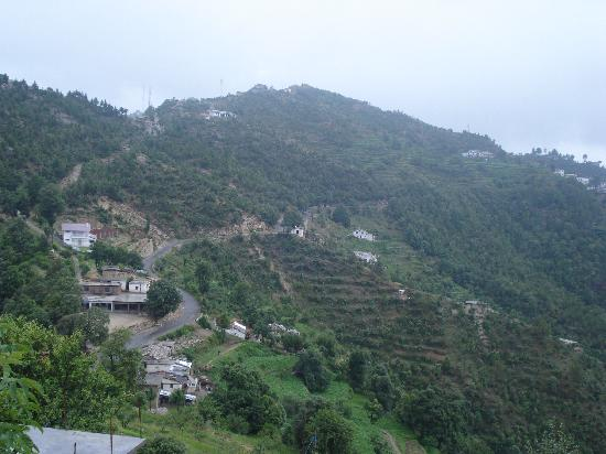Mukteshwar, Inde : View From Top