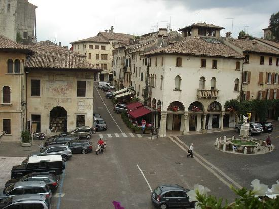 Hotel Duse : view from window