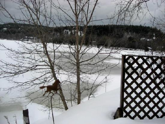 Chamberlin's Lookout Bistro & Boutique: Wakefield winter scene