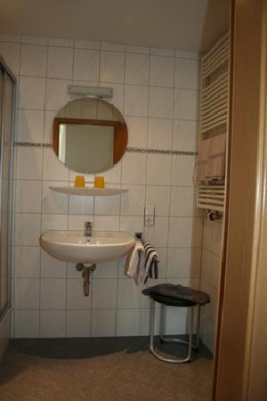Landgasthaus Grüner Baum: la salle de bain