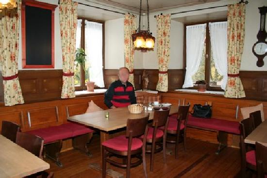 Landgasthaus Grüner Baum: le restaurant