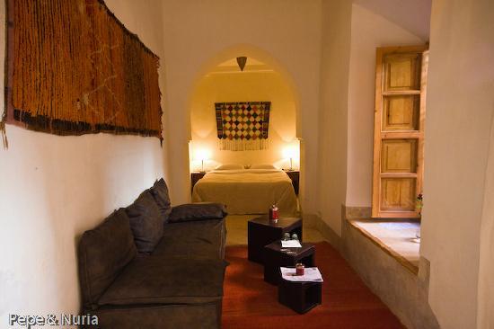 Riad Djebel: Otra de las habitaciones