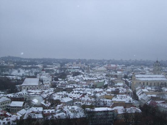 Litinterp Guest House Kaunas: The Old Town on a Novembers morning