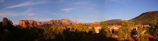 Las Posadas of Sedona: View from our room