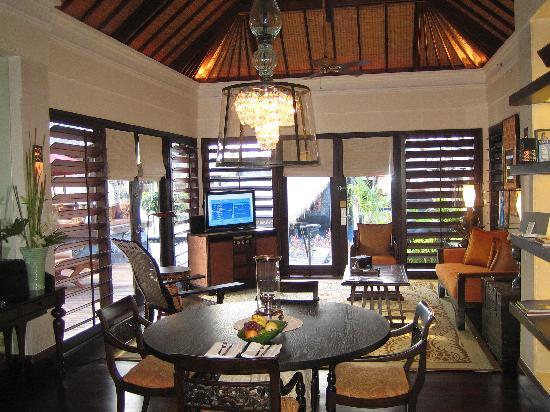 The St. Regis Bali Resort: Villa Living Room