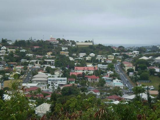 Views around Noumea from Mont Coffyn.