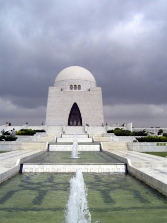 Karachi, Pakistán: Mazar-e-Quaid (Mouseleum of Father of the Nation)