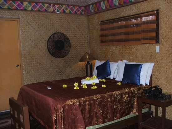 Puerto Pension: One of our rooms. So comfy and charming!